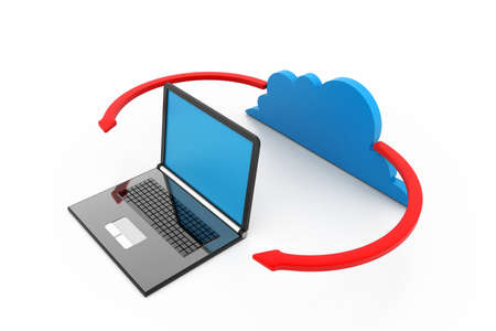 Cloud computing devices Stock Photo - 17033803