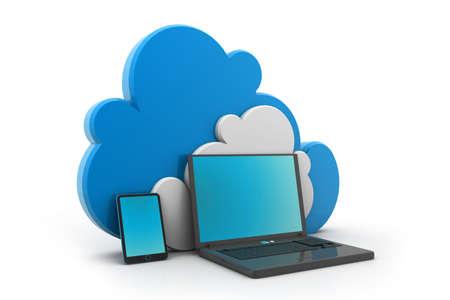 Cloud Computing Stock Photo - 17033709