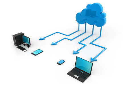 Cloud computing Stock Photo - 17033738