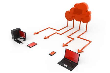Cloud computing Stock Photo - 17033768