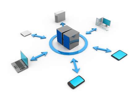 Cloud computing Stock Photo - 17033720