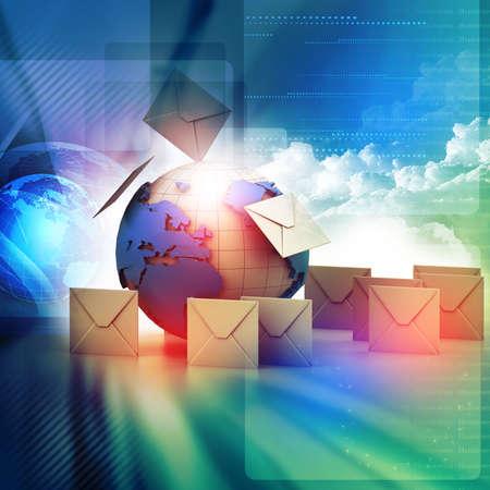 mail box: Envelopes around the globe