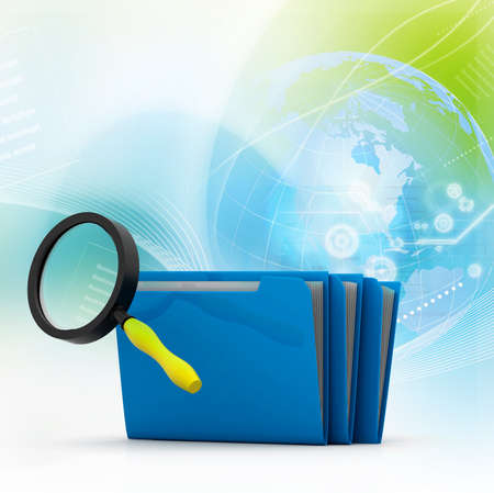 Search folders or archive Stock Photo - 17037676