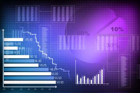 Business chart Stok Fotoğraf - 18416144
