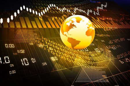 financial report: global stock market
