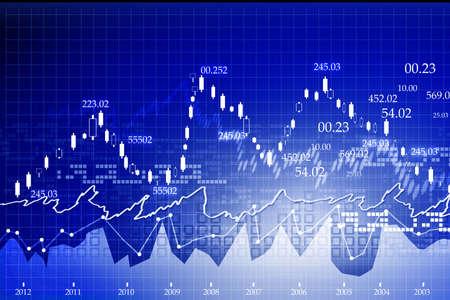 Stock Market Chart Stok Fotoğraf - 18416112