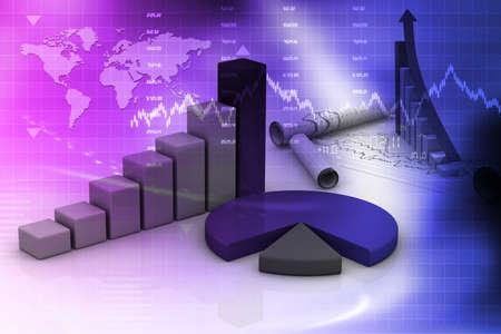 grafica de barras: Negocio gráfico