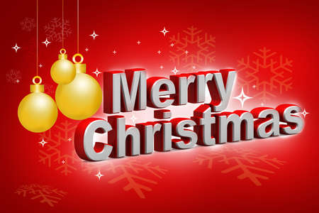 Elegant and Light Merry Christmas background  photo