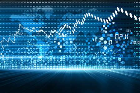 株式市場のチャート