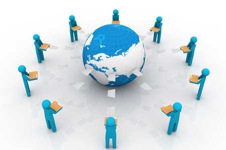 peoples: Content Management System in File Sharing Art  People sharing file