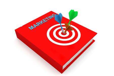 Marketing book photo