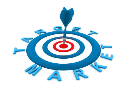 bull s eye: Target market