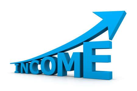 Increasing income photo