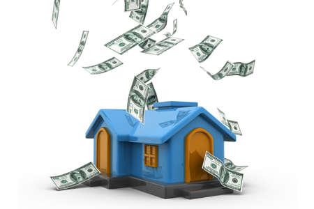 Haus finanzieren Standard-Bild - 22954654