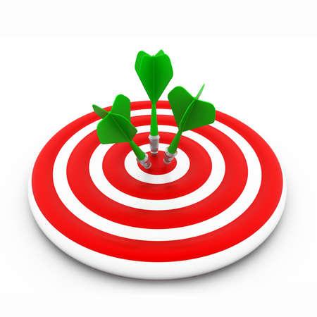 bull s eye: Darts target