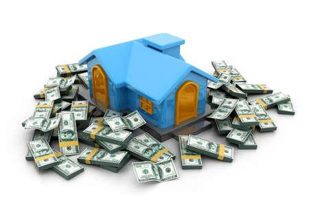 Haus finanzieren Standard-Bild - 22956586