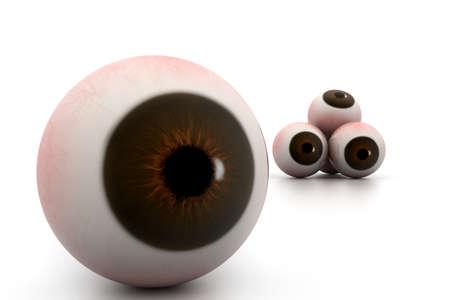 eye ball: Bola del ojo
