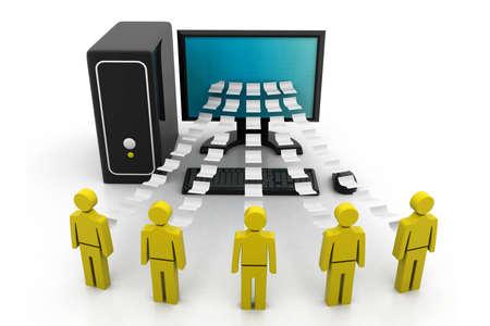 rete di computer: Network computer