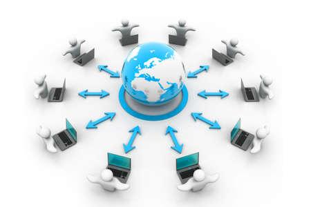 rete di computer: Computer della rete globale