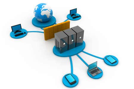 rete di computer: Computer di rete globale