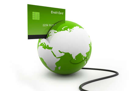 international internet: Online payments concept