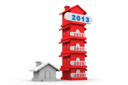 decline: Growing home sales