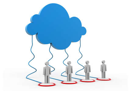 Cloud Network Stock Photo - 23302197