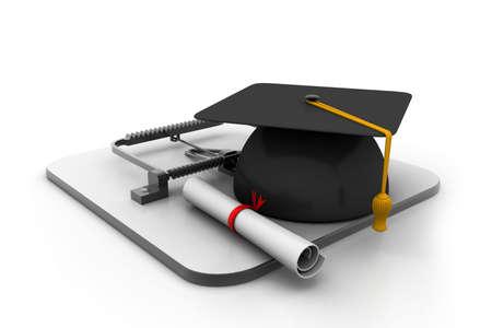 mouse trap: Education trap