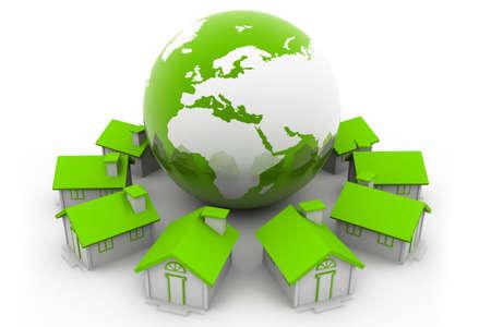 global village: Global Real Estate