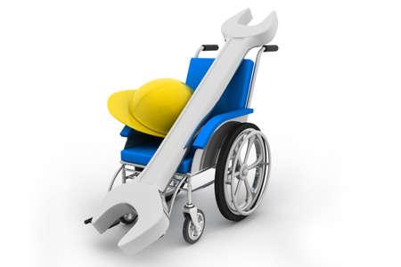 Wheelchair Stock Photo - 23532499