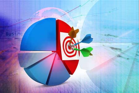 bull     s eye: Business target
