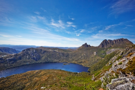 Cradle Mountain en Dove Lake