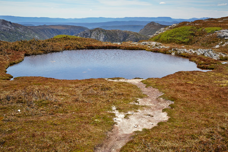 Mountain tarn at Cradle Mountain