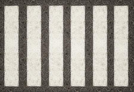 paso de cebra: Fondo de la superficie del paso de peatones, vista desde arriba