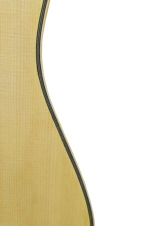 curving: music background with curving of guitar body