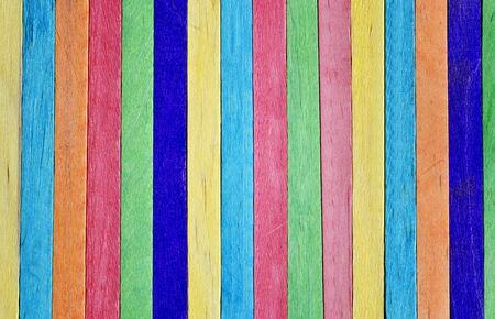 helados con palito: Colorido de helado de madera palillo textura de fondo.