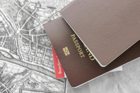 pasaporte: Passport en vista de cerca