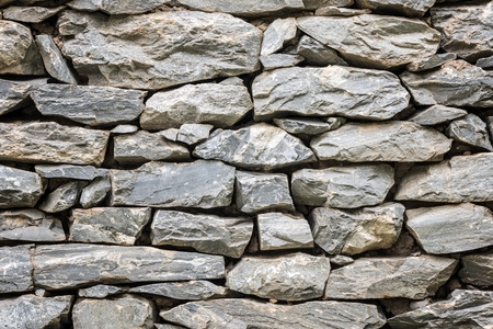 gothic build: Stone wall in close up view,detail texture of stone wall.