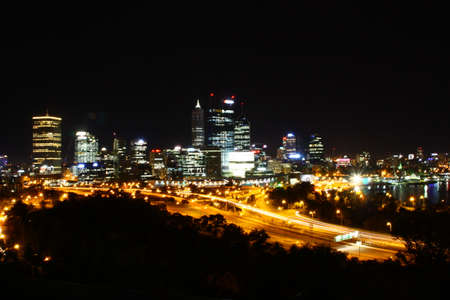 perth: Perth in the night