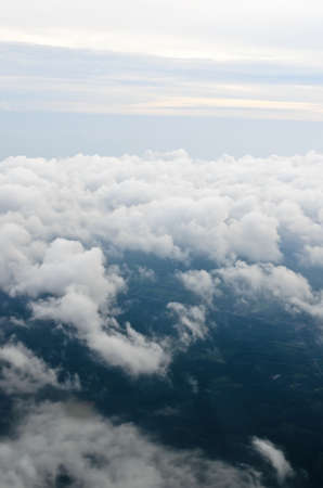 Over cloud from plane Stock Photo - 17307331
