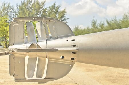 warhead: tail of old torpedo for Warship
