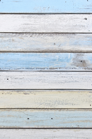 white and blue wood texture Stock Photo