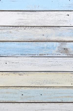 white and blue wood texture Фото со стока