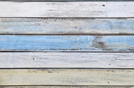white and blue wood texture Standard-Bild