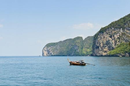 long tail boat at koh mook,trang,thailand Stock Photo - 17656675