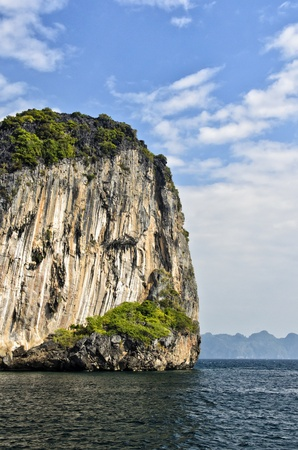 cliff at koh chuak island,trang province,thailand Stock Photo - 17657030