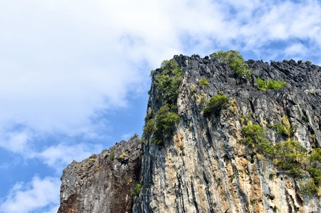 cliff at koh ma island,trang province,thailand Stock Photo - 17657006