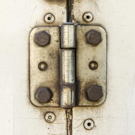 Rusty Door hinge Stock Photo - 19331798