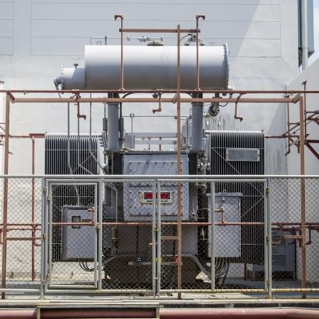amp tower: high-voltage transformer