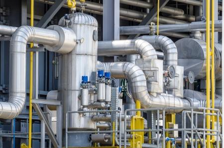 brandstof gas, verontreinigde afscheider voor elektriciteitscentrale